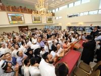 """בית הכנסת המפואר בישראל נחנך השבוע בת""""א עם האחים אשל 37"""