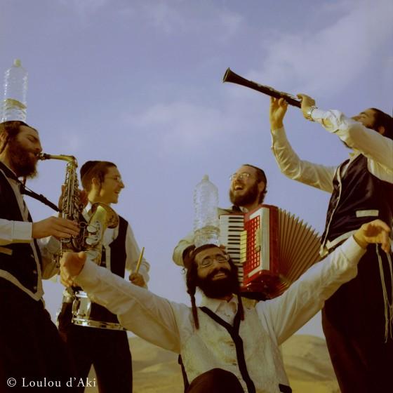Jerusalem Klezmer Band in the desert