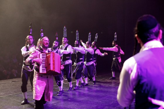 Jerusalem Klezmer Band performing in Petach Tikva on Purim