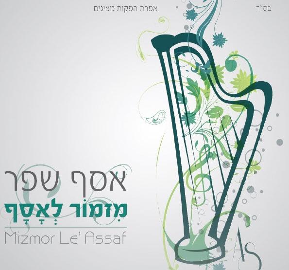 """""""מזמור לאסף"""" -  אלבום הביכורים של אסף שפר 6"""