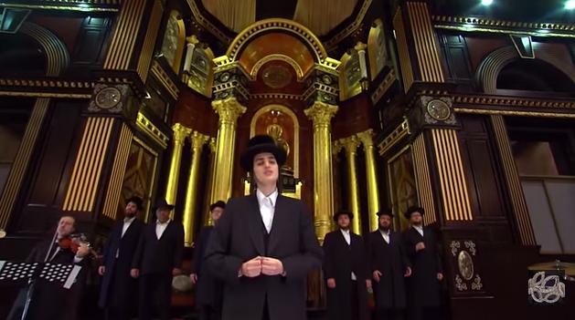 עטרת שלמה - בעל המנגן מוטי שטיינמץ בקליפ חדש 8