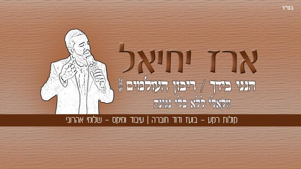 """ארז יחיאל - """"הנני בידך"""" בגרסה ווקאלית 7"""