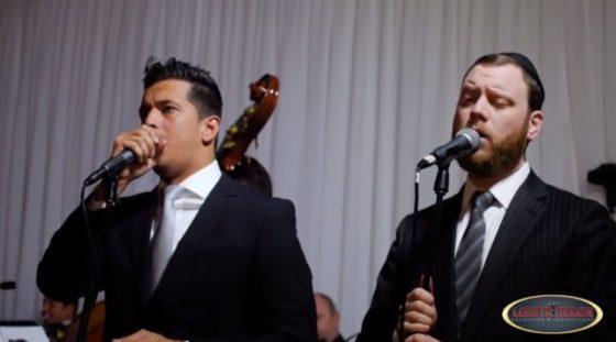 יומי לואי והזמר אבי פרץ במחרוזת חופה מרגשת • צפו 1