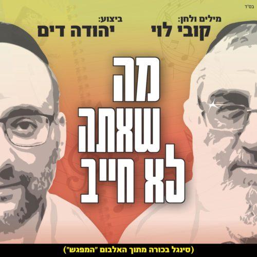 """קובי לוי ויהודה דים באלבום משותף: """"המפגש"""" 1"""