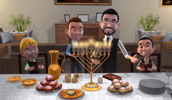 מיכה גמרמן בקליפ אנימציה לחנוכה • צפו 1