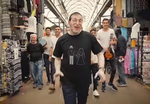 """""""ואתם רוקדים"""": מנדי ג'רופי בסינגל קליפ מקפיץ 1"""