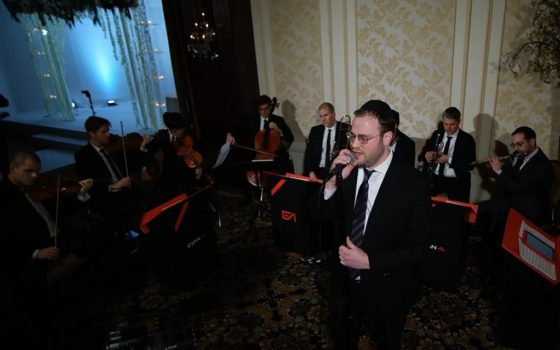 איצי הנקין ותזמורת EvanAl במחרוזת חופה קסומה 1