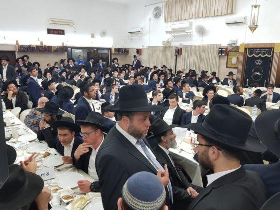 חיפה: מקהלת 'יחד' הרקידה את מאות מסיימי המסכתות • צפו 2