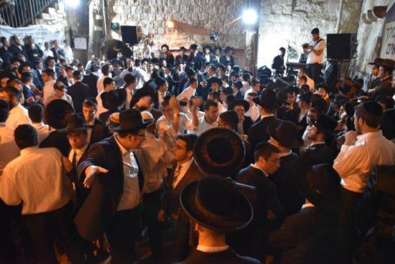 את 'ריקוד הסולמות' בקבר דוד המלך כבר ראיתם? • צפו 6