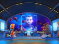 יוני Z מגיש: UP! גרסת קליפ האנימציה המרהיב