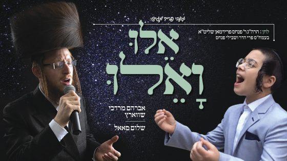 """אברהם מרדכי שווארץ וילד הפלא שלום סאל בדואט מרגש - """"אלו ואלו"""" 1"""