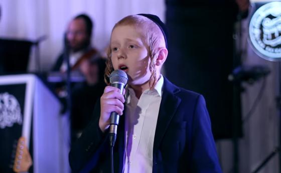 """ילד הפלא יענקי גרין ומקהלת """"שירה"""" מרגשים עם """"נחמה"""" 5"""