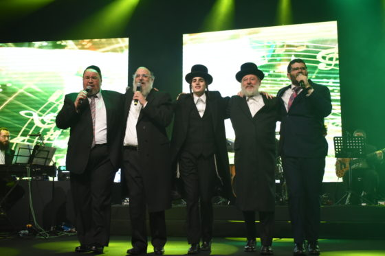 המוזיקה היהודית חגגה 50 שנות יצירה לר' חיים בנט • צפו 1