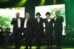 המוזיקה היהודית חגגה 50 שנות יצירה לר' חיים בנט • צפו