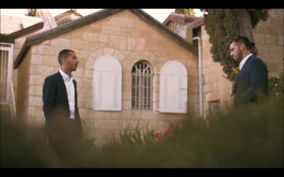"""צפו: הלל מאיר ואביחי עוזרי מבצעים את""""רבונו"""" של שמחה ליינר 1"""