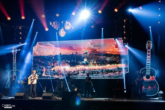 המופע המרכזי 25 שנה לקרליבך בירושלים • גלריה 20