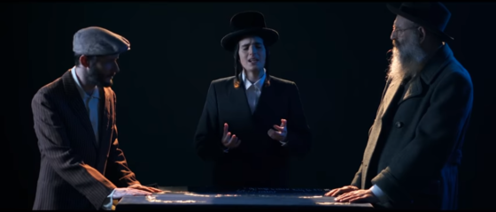 הקליפ של יענקל'ה: מוטי שטיינמץ ו״נרננה״ בסיום הש״ס 5