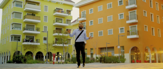 """""""ברכה והצלחה"""": מיכאל אזולאי בקליפ מרהיב 6"""