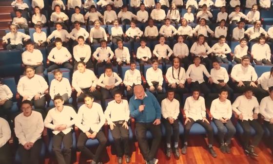 """צפו: 'אנא בכח' של 'שיר הלל' ו'פרחי הרא""""ם' 11"""