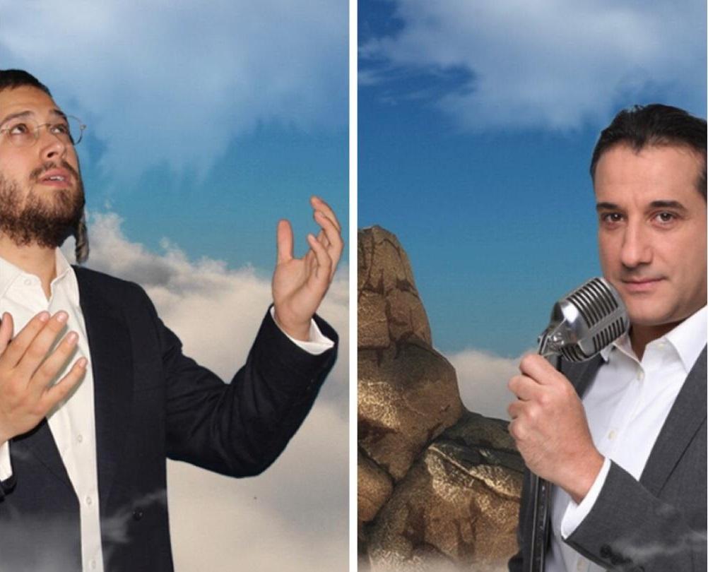 """ארי היל וחיים ישראל בדואט מרגש באידיש: """"אבא איתי"""" 11"""