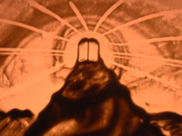 """אהרן זאב ברנשטיין ממחיש את """"מתן תורה"""" בציור חול 5"""