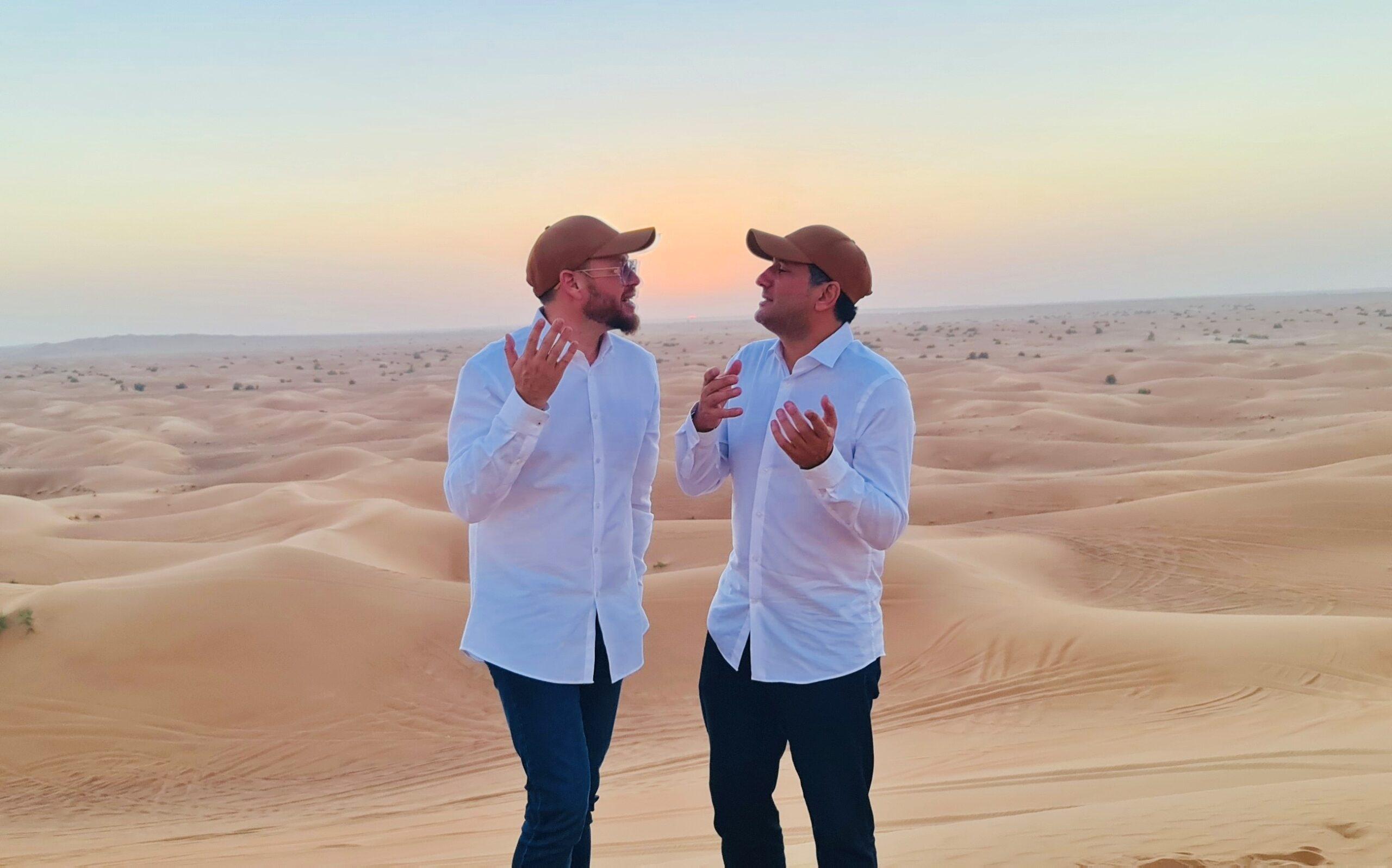 שוקי סלומון וחיים ישראל שרים בדובאי: 'שירת הבקשות' 9
